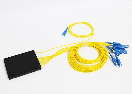 1*8 θραύστης PLC οπτικών ινών με το συνδετήρα ινών Sc ST LC SM FC