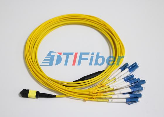 Μόλυβδοι μπαλωμάτων ινών LC SM MTP/MPO με το συνδετήρα οπτικής ίνας UPC