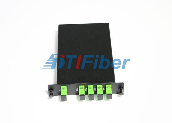 Κιβώτιο θραυστών οπτικών ινών PLC LGX με APC Sc τους μονοκατευθυντικούς προσαρμοστές οπτικών ινών